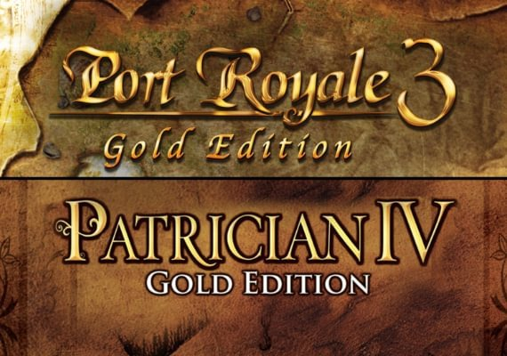 Port Royale 3 and Patrician IV Gold - Double Pack
